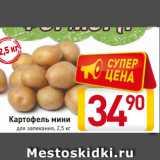 Картофель мини для запекания, 2,5 кг, Вес: 2.5 кг