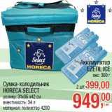 Сумка-холодильник HORECA SELECT Аккумулятор EZETIL ICE вес: 300 г