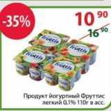 Полушка Акции - Продукт йогуртный Фруттис легкий 0,1%