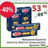 Полушка Акции - Макароны Барилла спагетти, баветте, пенне ригате,  фузилли