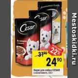 Корм для собак СЕSAR, Вес: 100 г