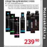 Средства для волос Syoss, Количество: 1 шт