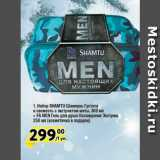 Скидка: Набор SHAMTU Шампунь Густота и свежесть с экстрактом мяты, 360 мл + FA MEN Гель для душа Охлаждение Экстрим, 250 мл (косметичка в подарок)