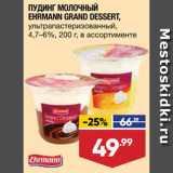 Магазин:Лента супермаркет,Скидка:Пудинг Grand Dessert