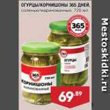 Магазин:Лента супермаркет,Скидка:Огурцы/корнишоны 365 Дней