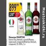Карусель Акции - Напиток МARTINI