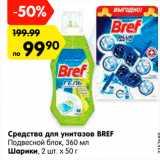 Карусель Акции - Средства для унитазов BREF