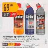 Карусель Акции - Чистящее средство SANFOR