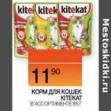 Корм для кошек KiteKat , Вес: 85 г