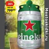 Карусель Акции - Пиво heineken