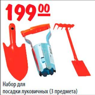 Инструмент для посадки лука 164