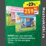 Дикси Акции - НАБОР в асс.: для мальчика, для девочки, Schauma шампунь, 225 мл + Fa гель для душа, 250 мл