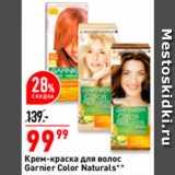 Окей Акции - Крем-краска для волос Garnier Color Naturals