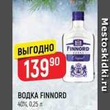 Верный Акции - ВОДКА FINNORD