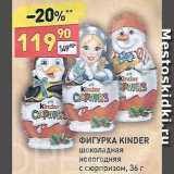Фигурка шоколадная Kinder, Вес: 36 г