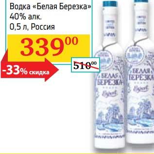 Водка Березка Цена