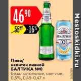 Скидка: Пиво Балтика 0