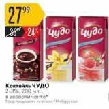 Карусель Акции - Шоколад Коктейль ЧУДО