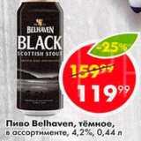Пятёрочка Акции - Пиво Belhaven