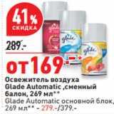Скидка: Освежитель воздуха Glade Automatic ,сменный