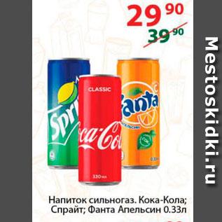 Акция - Напиток Кока-кола, Спрайт, Фанта