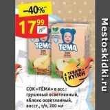 Магазин:Дикси,Скидка:Сок «ТЁМА»