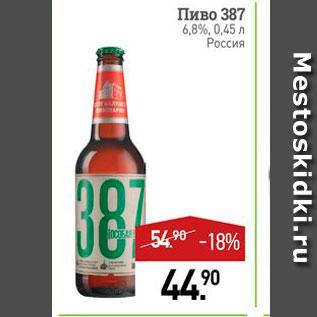 Акция - Пиво 387