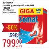 Скидка: Таблетки для посудомоечной машины SOMAТ