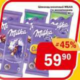 Перекрёсток Экспресс Акции - Шоколад молочный МILKА