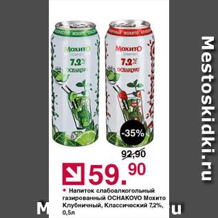Акция - Напиток сл/алк Мохито