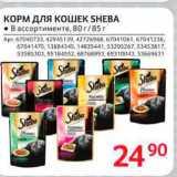 Магазин:Selgros,Скидка:Корм для кошек Sheba