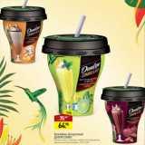 Магазин:Мираторг,Скидка:Коктейль йогуртный ДАНИССИМО Danone, кокос-шоколад, клубничное мороженое, вишня-шоколад-миндаль, 5,2%, 260 г