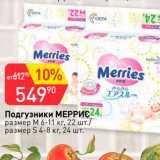 Магазин:Авоська,Скидка:Подгузники Меррис