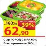Матрица Акции - Сыр Город Сыра 60%