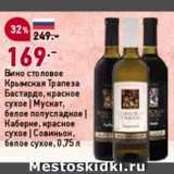 Скидка: Вино Крымская трапеза