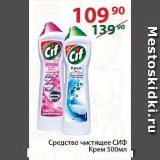Акция - Средство чистящее СИФ Крем