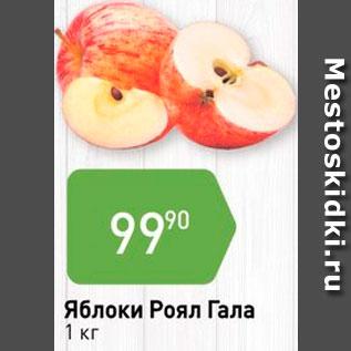 Акция - Яблоки Роял Гала