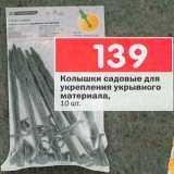 Колышки садовые, Количество: 1 шт