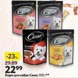 Окей Акции - Корм для собак Cesar