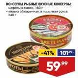 Консервы Рыбные Вкусные консервы
