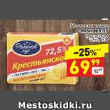 Магазин:Дикси,Скидка:Масло сливочное РОМАНОВ ЛУГ крестьянское 72,5%