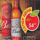 Пятёрочка Акции - Пиво Bud