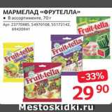 Магазин:Selgros,Скидка:Мармелад «Фрутелла»