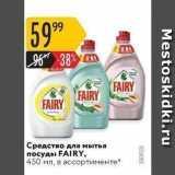 Карусель Акции - Средство для мытья посуды FAIRY