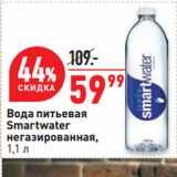 Скидка: Вода питьевая Smartwater негазированная
