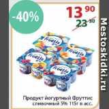 Магазин:Полушка,Скидка:йогуртный продукт  Фруттис