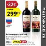 Карусель Акции - Вино Agora