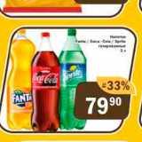 Перекрёсток Экспресс Акции - Напитки Fanta/Sprite/Coca-Cola