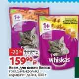 Магазин:Виктория,Скидка:Корм для кошек Вискас