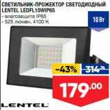 Лента супермаркет Акции - Светильник-прожектор Lentel